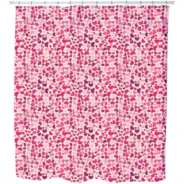 So Many Hearts Shower Curtain