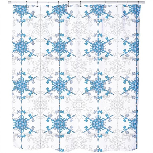 Snowflake Beauty Shower Curtain