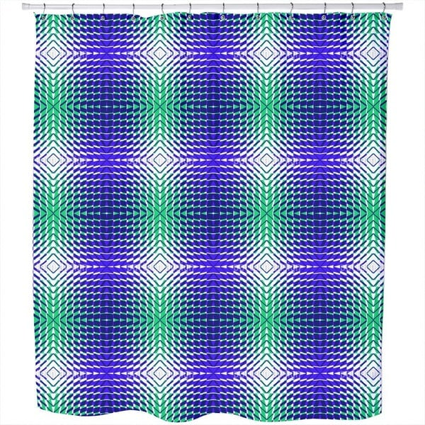 System Blues Shower Curtain