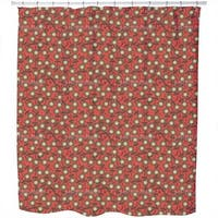 Sweet Star Flowers Shower Curtain