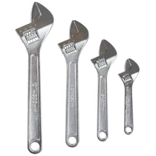 Stalwart 4-piece Adjustable Wrench Set with Storage Pouch|https://ak1.ostkcdn.com/images/products/11615102/P18551435.jpg?impolicy=medium