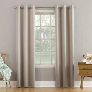Link to Sun Zero Talisha Grommet Room Darkening Window Curtain Panel Similar Items in As Is