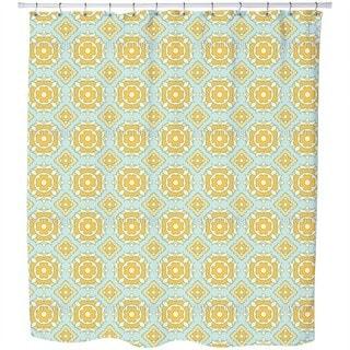 Sunny Tiles Shower Curtain