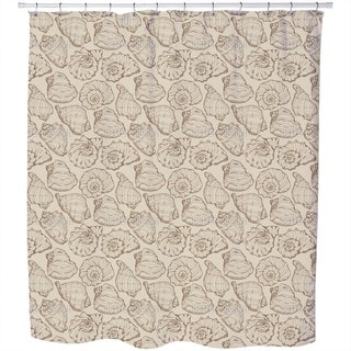 Seashells Sand Shower Curtain