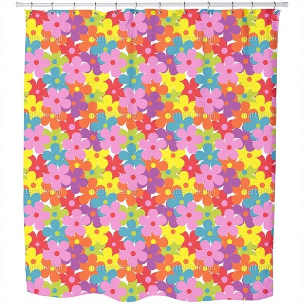 Summer Garden Party Shower Curtain