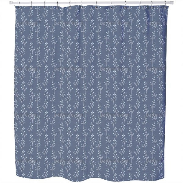 Succulent Growth Shower Curtain