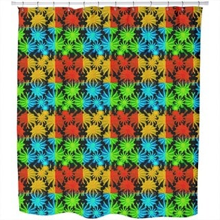 Pop Art Succulents Shower Curtain