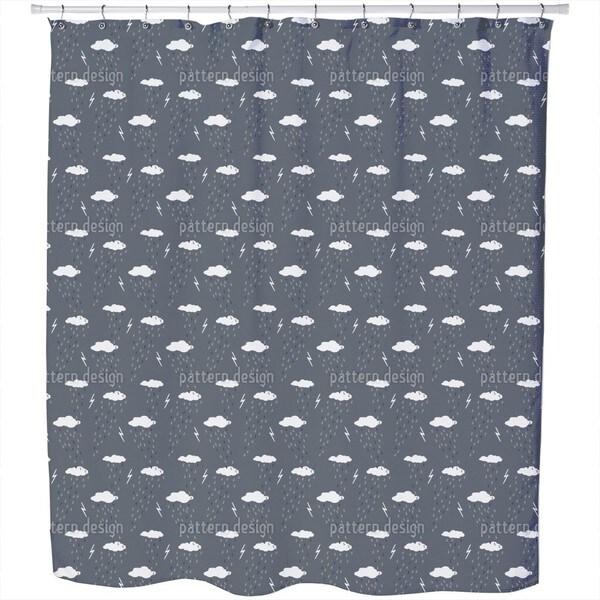 Stormy Night Shower Curtain