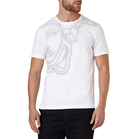 Versace Collection White Half Medussa T-shirt