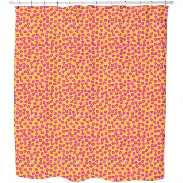 Plum Bloom Shower Curtain