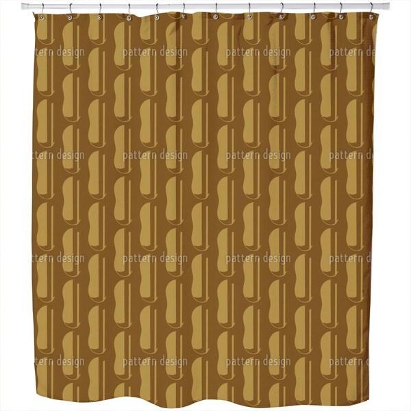 Still More Beans Shower Curtain