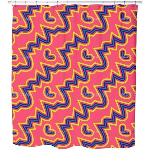Pink Pop Shower Curtain