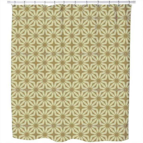 Stella Gold Shower Curtain