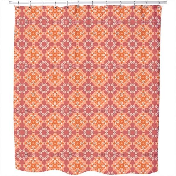 Rosetta Terra Shower Curtain
