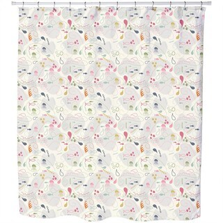 Pinky Planktons Patchwork Shower Curtain