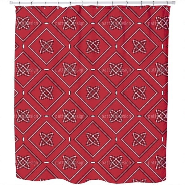 Roma Rosso Shower Curtain