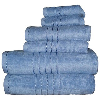 Haven Rayon from Bamboo and Egyptian Cotton 6-piece Towel Set