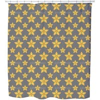 Starflowers Shower Curtain
