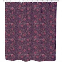 Starflowers At Midnight Shower Curtain