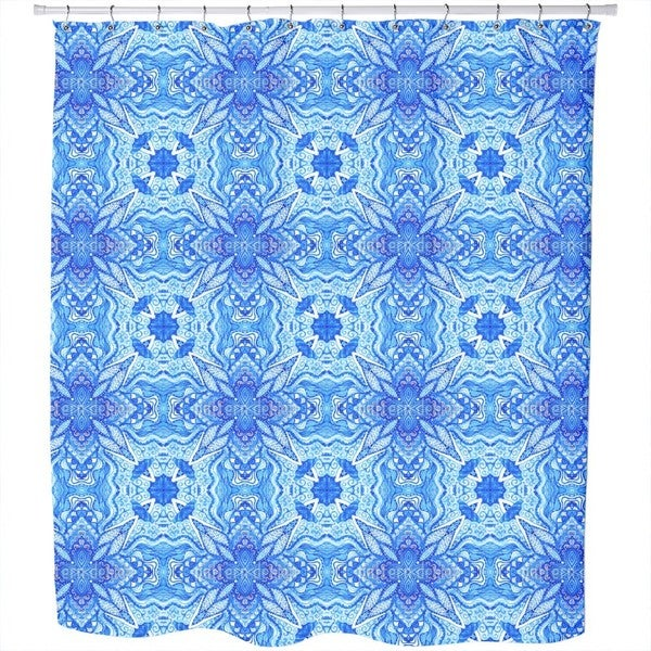 Star of The Ocean Shower Curtain