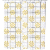 Star of The Beehive Shower Curtain