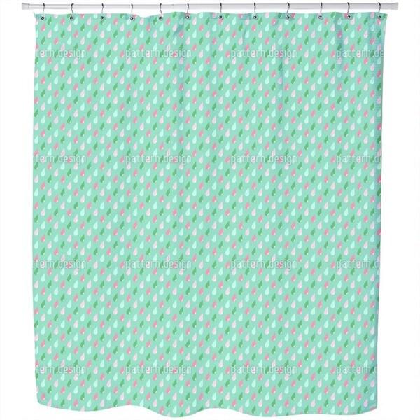 Rainfall Shower Curtain