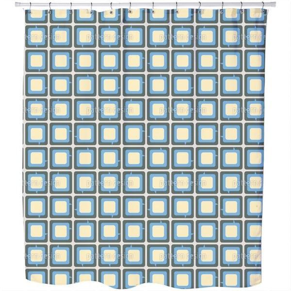 Speachbubbles Shower Curtain