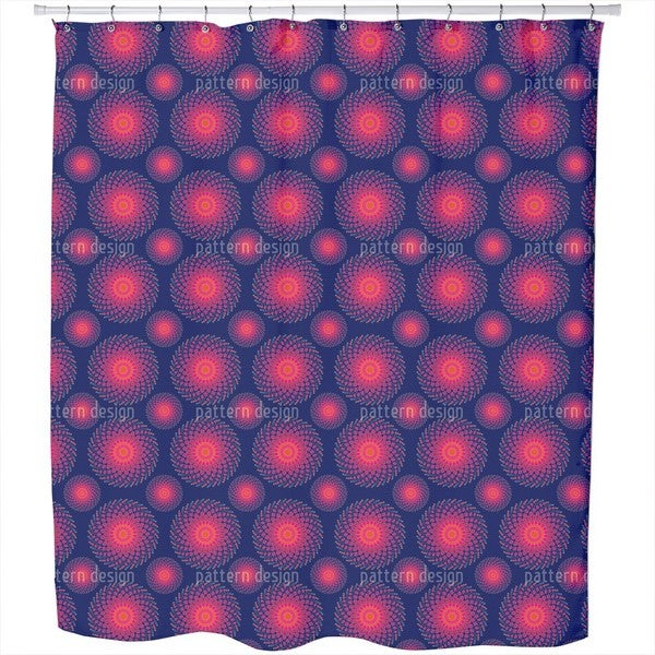 Spiral Nebula Shower Curtain