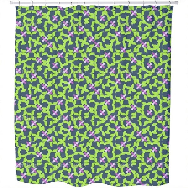 Spring in The Sudoku Patch Shower Curtain