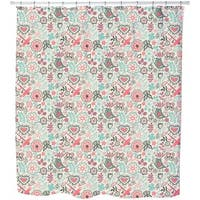 Piepsi in The Sweet Paradise Shower Curtain