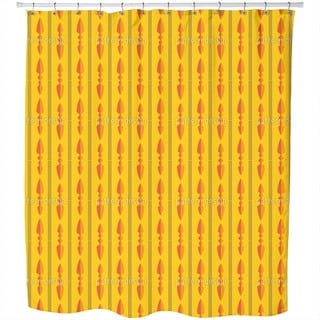 Spearheads Shower Curtain
