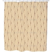 Pearl Diver Sand Shower Curtain