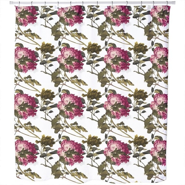 Shop Peony Shower Curtain