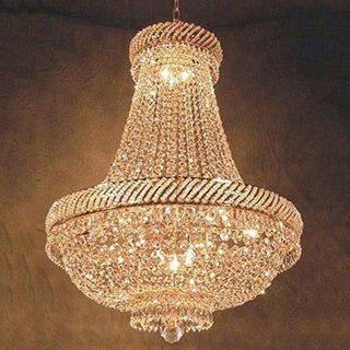 French Empire Crystal Chandelier Lighting H26 x W23