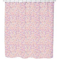 Sparkling Polka Dots Shower Curtain