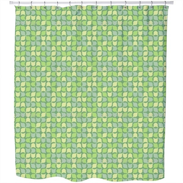 Retro Ivy Shower Curtain
