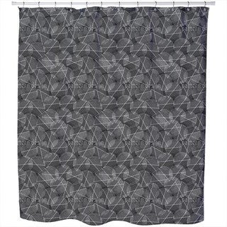 Reticular Circles Shower Curtain