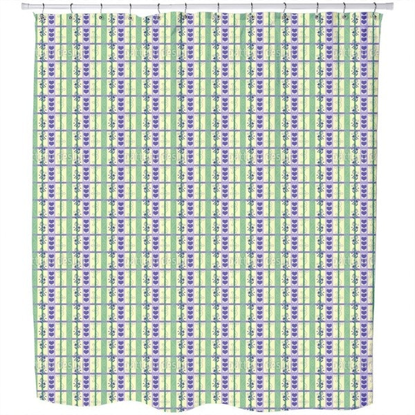 Hearst and Flores Vine Shower Curtain