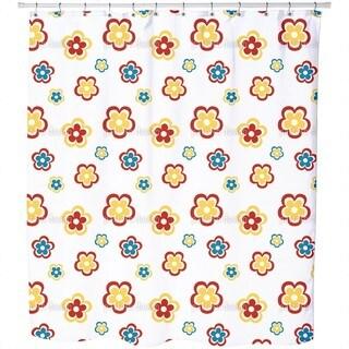 Happy Seventies Shower Curtain