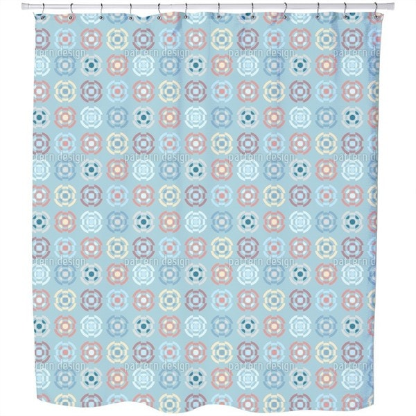 Gyro in Pastel Shower Curtain