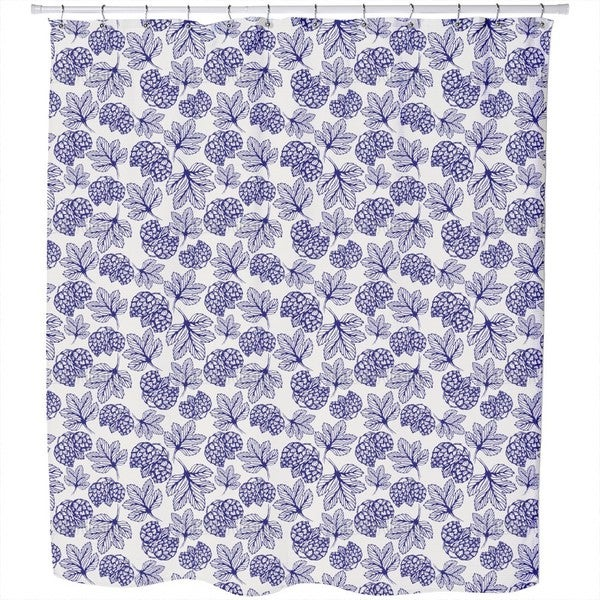 Hand Drawn Hops Shower Curtain