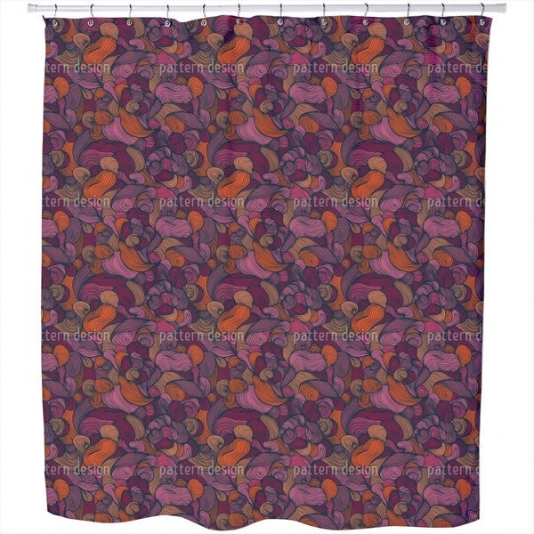 Gorgeous Confusion Shower Curtain
