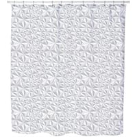 Paper Geometry Shower Curtain