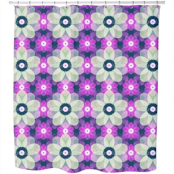 Paper Anemones Shower Curtain