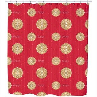 Ornaments For Christmas Shower Curtain