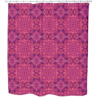 Ornament of Miracles Shower Curtain