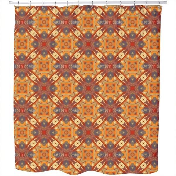 Oriental Eyes Shower Curtain