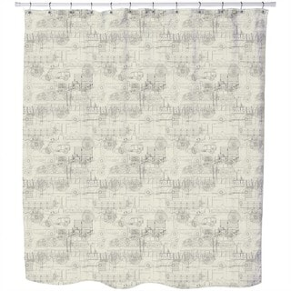 Industrial Revolution Shower Curtain