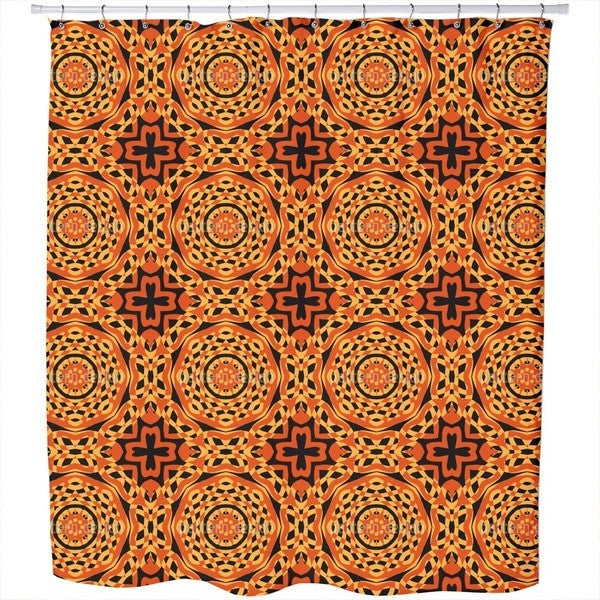 Orient Express Retro Shower Curtain