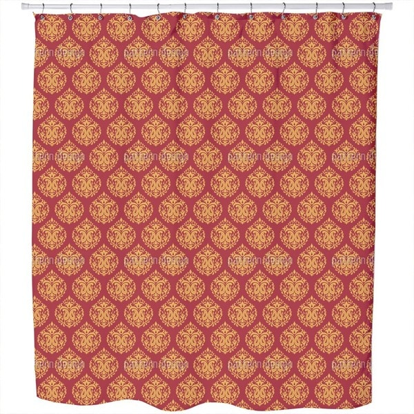 Indian Damask Shower Curtain